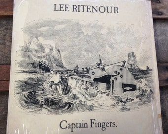 Lee Ritenour - Captain Fingers - vinyl record