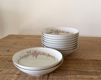 Vintage Mikasa Amelia Small Berry Bowls Ice Cream Bowls