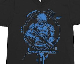 Andromeda Explorers - Video Game Inspired Shirt - Gaming Graphic Tee