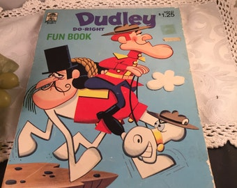 U025 Dudley Do Right coloring book 1972