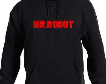 Mr Robot Hooded Sweatshirt