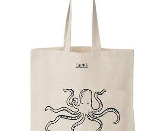 tote bag octopus