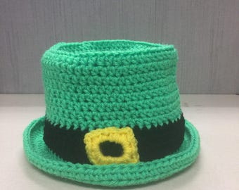 St. Patrick's Day Top Hat Kids/Womens/Mens Free Shipping