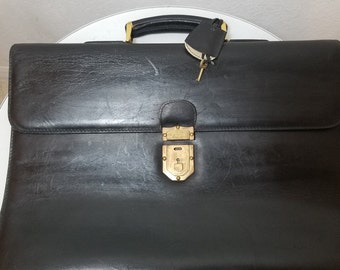 FREE  SHIPPING  Mark Cross Leather Case