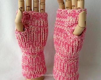 Candyfloss Fingerless Gloves