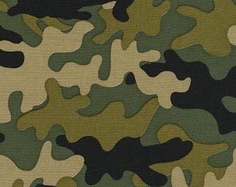 Little Camo - Olive, Traffic Jam, from Michael Miller Fabrics
