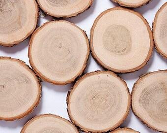 Sale 20 oak wood slices 2 3 rustic wedding decors 20 oak wood slices 4 5 rustic wedding decors junglespirit Image collections
