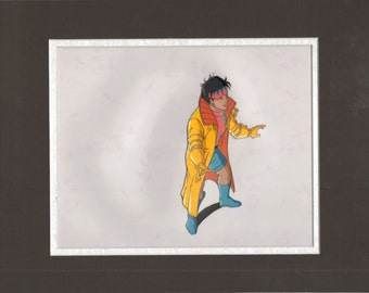 X-Men Marvel Jubiliee Original production animation cel 2*
