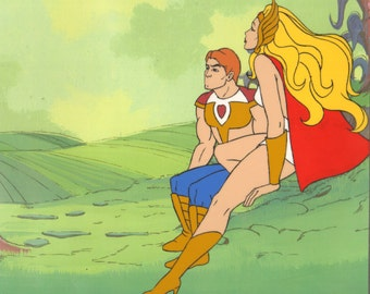 SHE-RA Princess of Power Original Production Animation Cel Filmation 1985-1986 2*