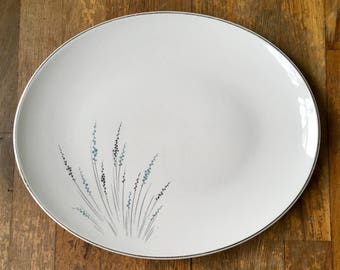 """Knowles Fantasy 14"""" Oval Serving Platter"""