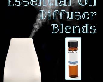 Calm and Focus Diffuser Blend, Calm & Focus Essential Oil Blend, Calm and Focus, Focus, Relax Essential Oil Blend, ADHD Blend, ADD Blend