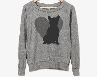 French Bulldog Long Sleeve Shirt // Dog Breed Shirt // Dog Breed Gift // Gift for Dog Lover // Pet Gift // Dog Breed T-Shirt