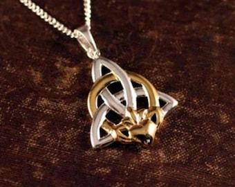 Claddagh Trinity Knot Pendant