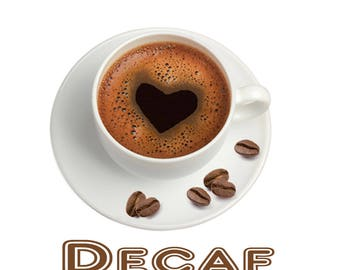 Flavored Decaf Coffee, 1 lb Fresh Roasted Flavored Decaf Coffee