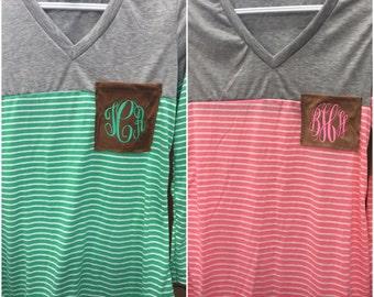 Monogram Stripe shirt