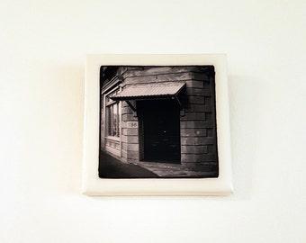 Original photographic tile wall hanging - doorway