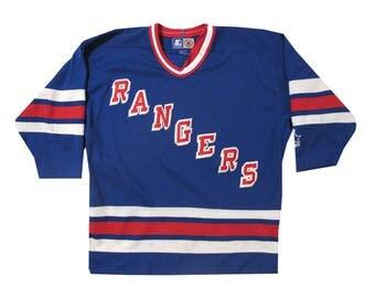 Vintage Starter New York Rangers Hockey Jersey