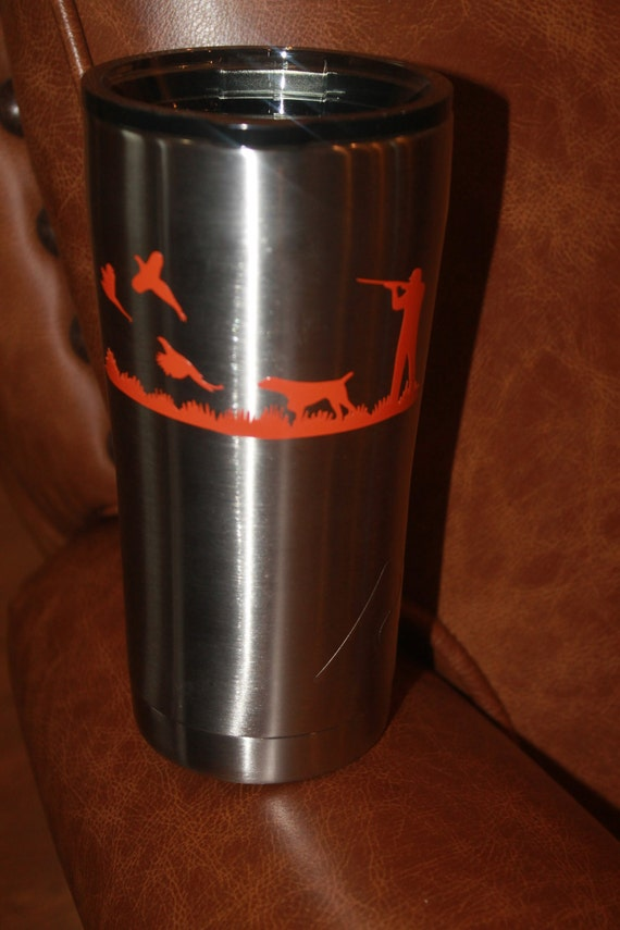 Pointer decals, yeti tumbler decal, cup decals, pointer dogs, Decals, yeti hunting decal, hunting decal, hunting dogs, ozark decal, deer