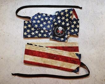 American Flag, Wrist Wrap, WOD, Weightlifting, Athletic, Military, Patriotic