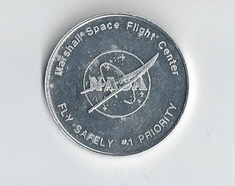 NASA Space Shuttle Safety Token-me1817013