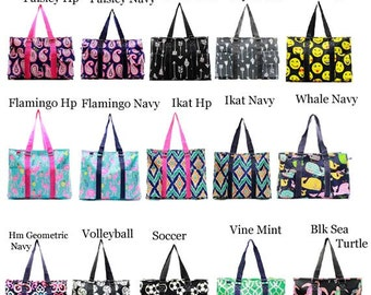 Geometric Small All Purpose Large Utility Bag With Free monogram