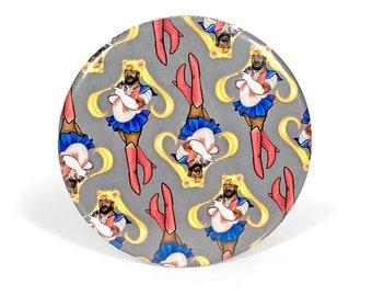 SAILOR MOONBEAR pinback button