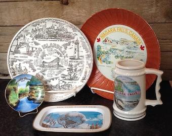 New York World's Fair - Vintage Souvenir Tray, 1964 - 1965