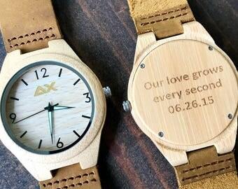 Wedding Gift For Husband Watch : ... Watch, Wedding Gift, Boyfriend Gift, Husband Gift, Groomsmen Gift