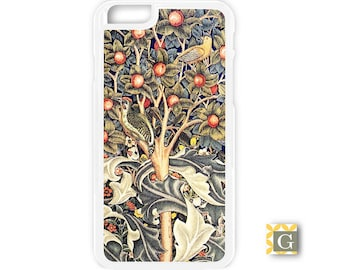 Galaxy S8 Case, S8 Plus Case, Galaxy S7 Case, Galaxy S7 Edge Case, Galaxy Note 5 Case, Galaxy S6 Case - Orange Tree Tapestry