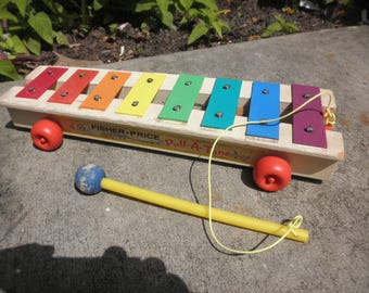 Xylophone Fisher Price Pull A Tune
