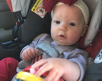 Baby headband, made to order item!