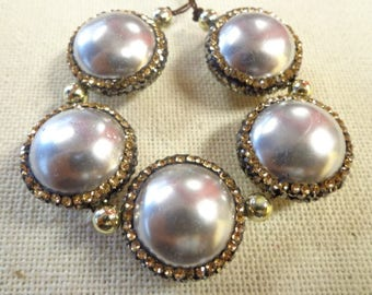Beautiful Mother of Pearl with Pave Lining!!!