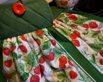 Strawberries Kitchen Towel, Fruit Decor, Fruit Kitchen Decor, Spring Towel,  Strawberries Decor