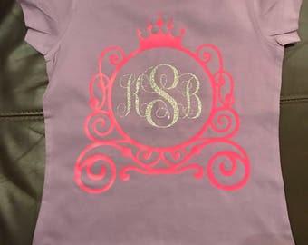 Cinderella shirt, Cinderella Vinyl shirt, Monogrammed Cinderella Vinyl Shirt, Monogrammed cinderella shirt, Disney vinyl shirt, personalized