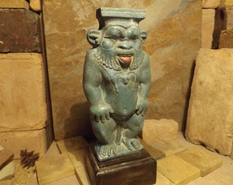 Egyptian - statue-sculpture - Bes-Domestic - protection god of childbirth and mothers