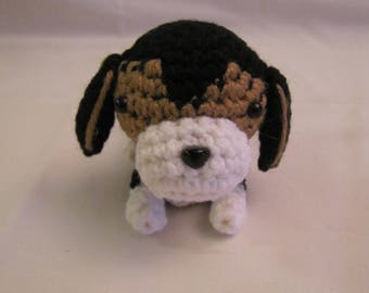 PUPPY BEAGLE - Crochet Amigurumi - Crochet Dog, Crochet Puppy