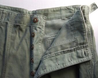 Vintage U S Army Field Trousers circa World War II