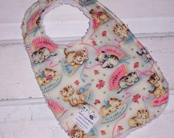 Adorable Kitty Baby Bib - FREE SHIPPING!!!