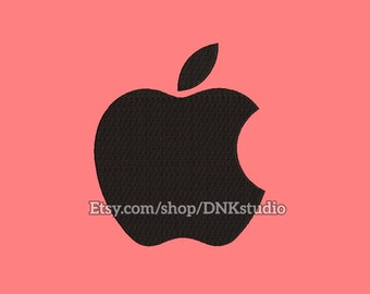 Apple Mascot Embroidery Design - 6 Sizes - INSTANT DOWNLOAD
