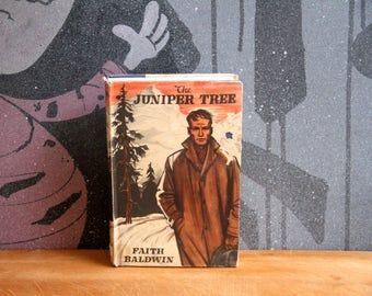 "Faith Baldwin ""The Juniper Tree"" hard back - a Book club first edition 1957"