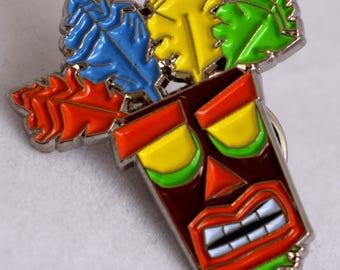 Aku Aku Pin - Crash Bandicot