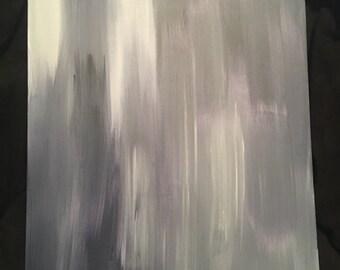 "Acrylic ""Studies of Blue"""