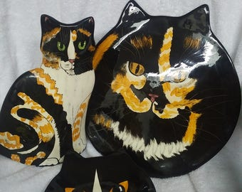 Cats by Nina Pottery set