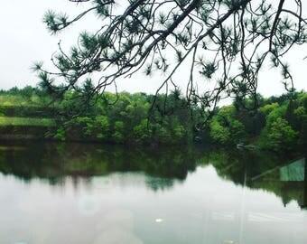 Relaxing Environmental Art Instagram Photography Print