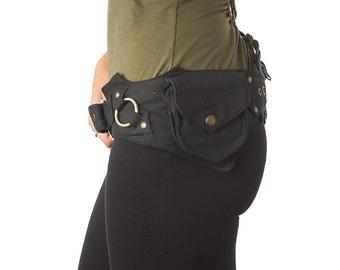 Utility Belt,Fanny Pack,Pocket Belt,Burning Man,Hip Bag,Hip Belt,Travel Money Belt,Passport Wallet,Fits IPhone 7Plus/Samsung Galaxy S7H.Gift