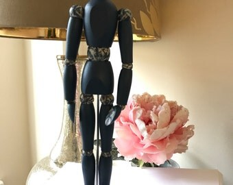Hand painted artist mannequin - Abbie Abstract