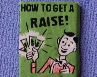Vintage Barbie and Ken dolls How to Get A Raise Book, Near Mint
