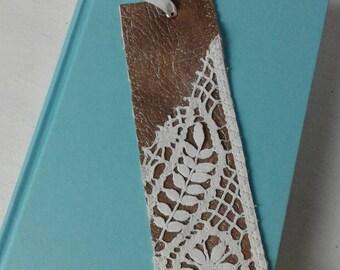 Bookmark Wonderland, handmade