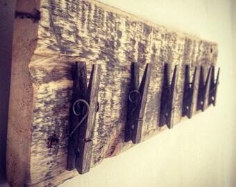 Rustic peg board