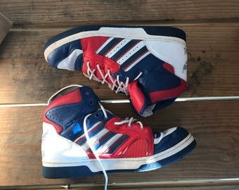 Mens Hightop Addidas sneakers Vintage 1990's size 12